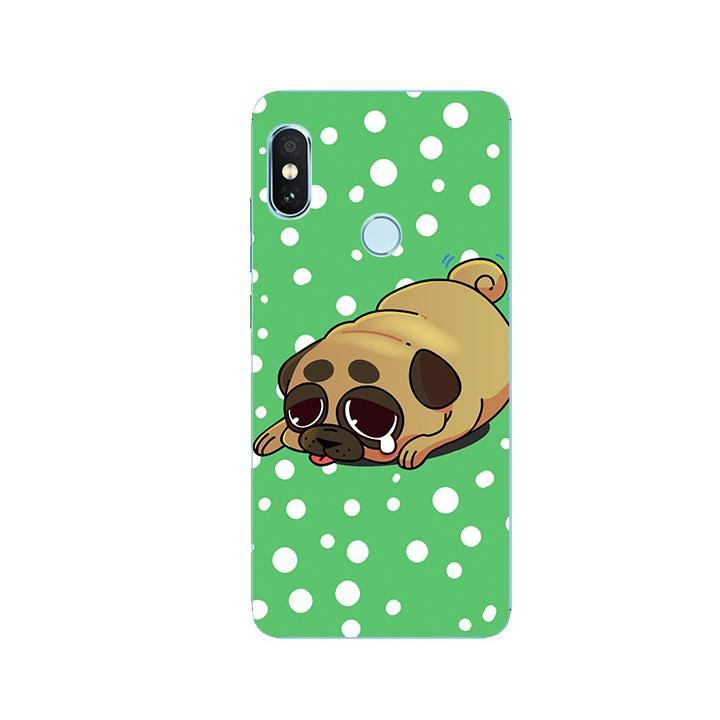 Ốp Lưng Dẻo Cho Điện thoại Xiaomi Redmi Note 5 - Dog Cry 02