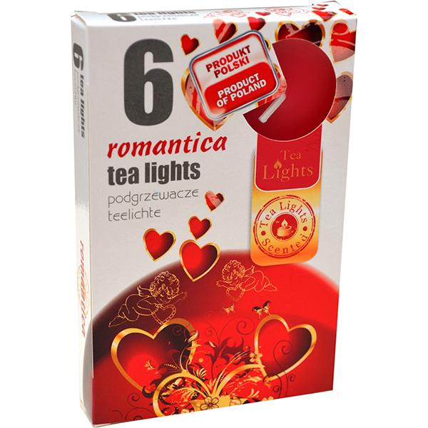Hộp 6 nến thơm Tea lights Admit Romantica ADM1485 (Hương lãng mạn)