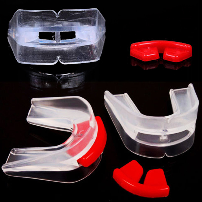 Boxing Protection Mouthguard Proffessional 5.5*5*1.5cm Silicone Gadget Teeth Guard