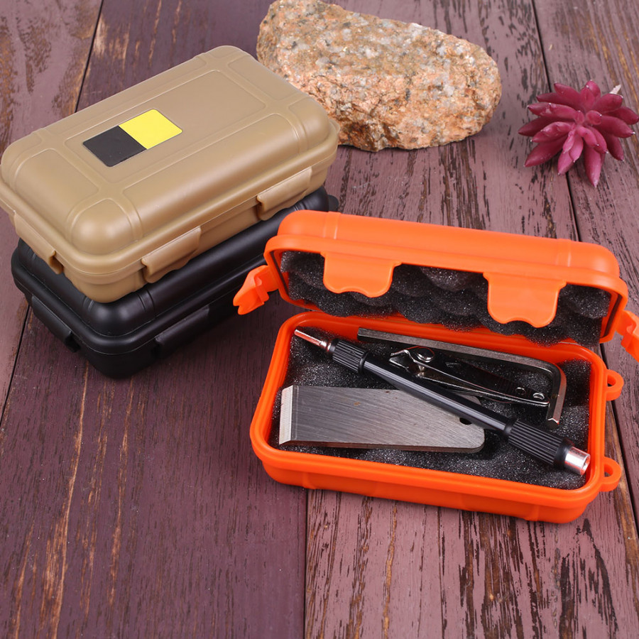 Outdoor Shockproof Storage Survival Seal Case Sport Camping Hiking Container Box - 1793136 , 3690029144242 , 62_13181679 , 242000 , Outdoor-Shockproof-Storage-Survival-Seal-Case-Sport-Camping-Hiking-Container-Box-62_13181679 , tiki.vn , Outdoor Shockproof Storage Survival Seal Case Sport Camping Hiking Container Box