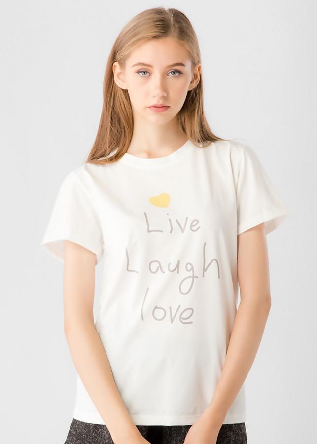 Áo thun Live Laugh  Love Vicky boutique AT46