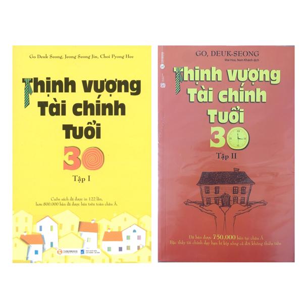 Combo Sách Thịnh Vượng Tài Chính Tuổi 30 (Trọn bộ 2 Tập) - 6048391 , 7327067911715 , 62_9950959 , 158000 , Combo-Sach-Thinh-Vuong-Tai-Chinh-Tuoi-30-Tron-bo-2-Tap-62_9950959 , tiki.vn , Combo Sách Thịnh Vượng Tài Chính Tuổi 30 (Trọn bộ 2 Tập)