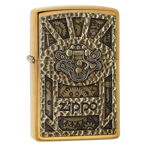 Bật Lửa Zippo 29103 - Steampunk Box Emblem Brushed Brass - 15554520 , 9554420377415 , 62_25660588 , 1336500 , Bat-Lua-Zippo-29103-Steampunk-Box-Emblem-Brushed-Brass-62_25660588 , tiki.vn , Bật Lửa Zippo 29103 - Steampunk Box Emblem Brushed Brass