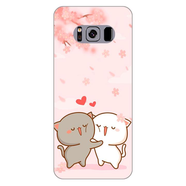 Ốp lưng dẻo cho điện thoại Samsung Galaxy S8 Plus_0509 LOVELY05 - Hàng Chính Hãng