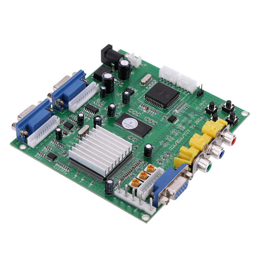 Portable Genuine GBS-8220 V3.0 High Definition CGA / EGA / YUV to VGA (2 * VGA) Arcade Game Video Converter Board Two - green - 1846906 , 2347804370778 , 62_13965792 , 867000 , Portable-Genuine-GBS-8220-V3.0-High-Definition-CGA--EGA--YUV-to-VGA-2-VGA-Arcade-Game-Video-Converter-Board-Two-green-62_13965792 , tiki.vn , Portable Genuine GBS-8220 V3.0 High Definition CGA / EGA / YUV t