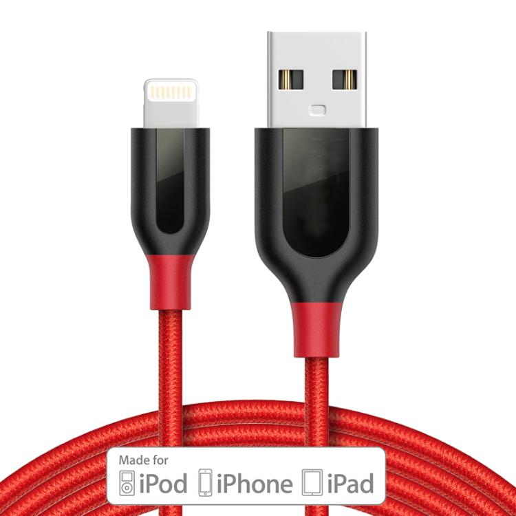 Cáp Sạc Và Truyền Dữ Liệu Cho iPhone/iPad Anker - Đỏ