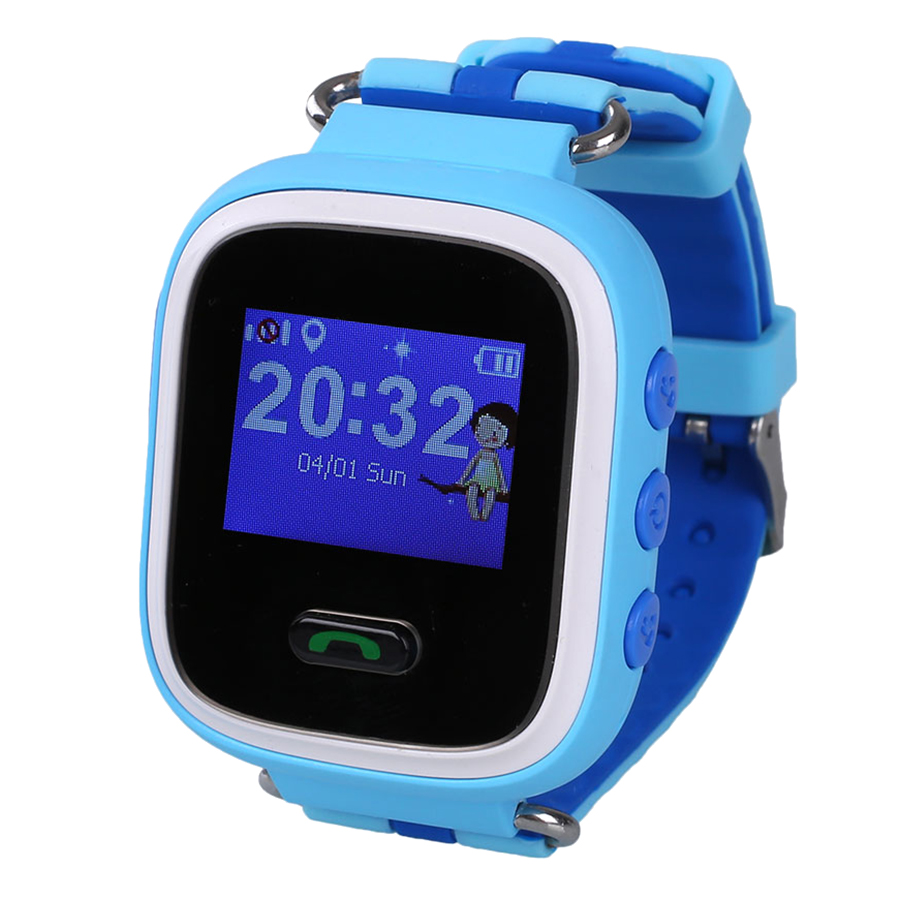 Q60 Smart Watches Smartband Tracker SOS Call Anti-lost Kids for Android iOS