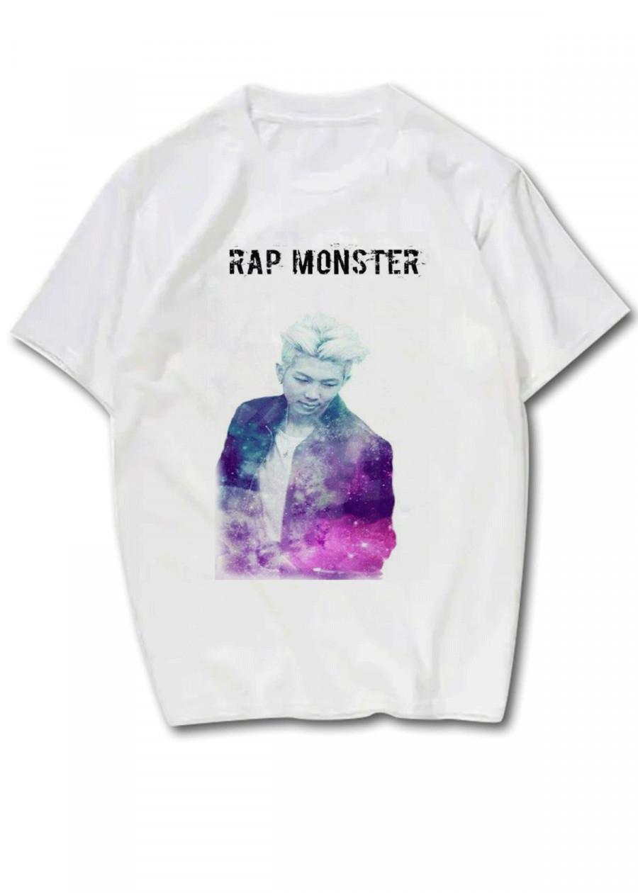 Áo Thun Bts Rap Monster Galaxy - 2186711 , 9606914811735 , 62_14037189 , 160000 , Ao-Thun-Bts-Rap-Monster-Galaxy-62_14037189 , tiki.vn , Áo Thun Bts Rap Monster Galaxy
