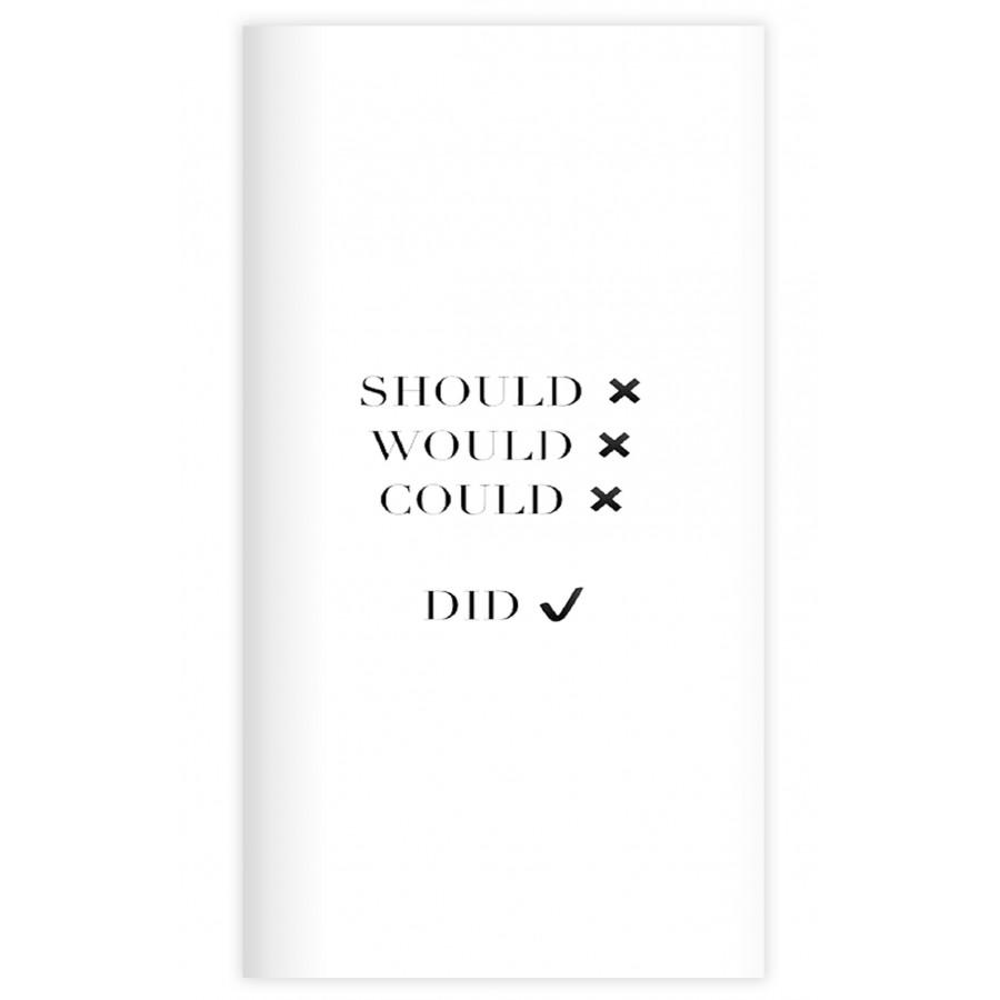Sổ tay planner Bìa should do  kích thước 21x11 60 trang bìa cứng in hình bullet journal, nhật ký, todo list, checklist - 18547825 , 6902076249427 , 62_31197035 , 69000 , So-tay-planner-Bia-should-do-kich-thuoc-21x11-60-trang-bia-cung-in-hinh-bullet-journal-nhat-ky-todo-list-checklist-62_31197035 , tiki.vn , Sổ tay planner Bìa should do  kích thước 21x11 60 trang bìa cứ