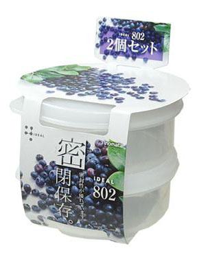 Set 2 hộp đựng thực phẩm chịu nhiệt lò vi sóng 180ml nội địa Nhật Bản