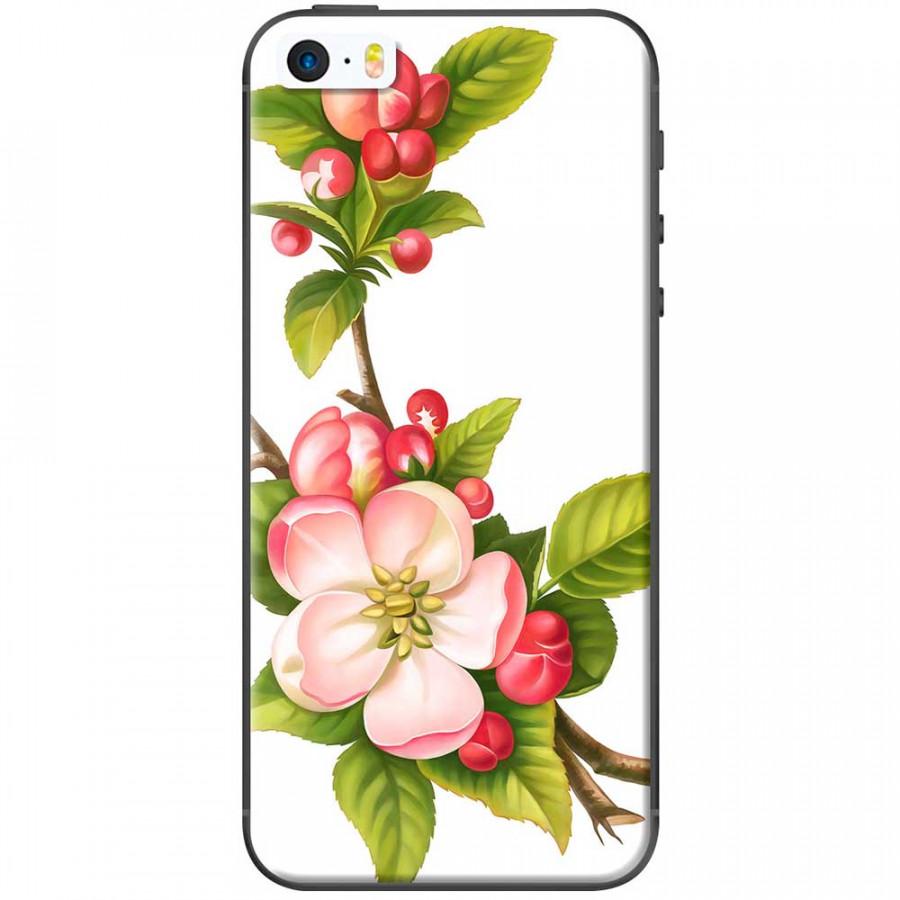Ốp lưng dành cho iPhone 5, iPhone 5S, iPhone SE mẫu Hoa đào đỏ nền trắng - 7278210 , 1708225350618 , 62_14853885 , 150000 , Op-lung-danh-cho-iPhone-5-iPhone-5S-iPhone-SE-mau-Hoa-dao-do-nen-trang-62_14853885 , tiki.vn , Ốp lưng dành cho iPhone 5, iPhone 5S, iPhone SE mẫu Hoa đào đỏ nền trắng