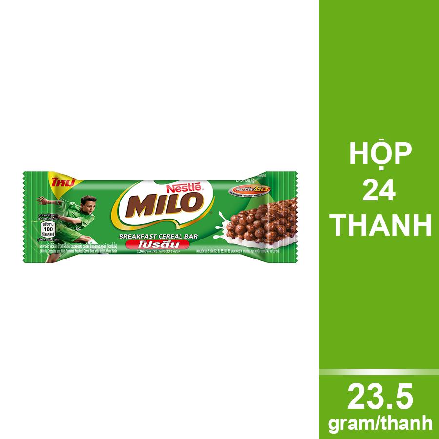 Thanh Ngũ Cốc Nestle Milo (23,5g x 4) - 1214913 , 5900020029355 , 62_5141147 , 339000 , Thanh-Ngu-Coc-Nestle-Milo-235g-x-4-62_5141147 , tiki.vn , Thanh Ngũ Cốc Nestle Milo (23,5g x 4)