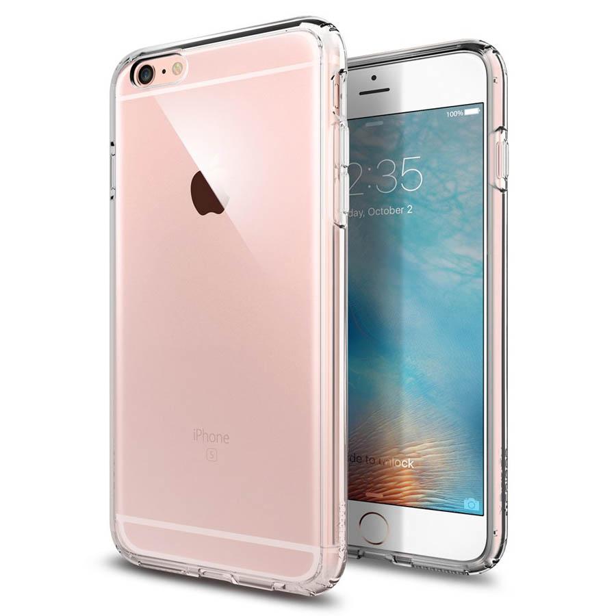 Ốp lưng iPhone 6 Plus / 6S Plus Spigen Ultra Hybrid (Trong suốt) - Hàng nhập khẩu