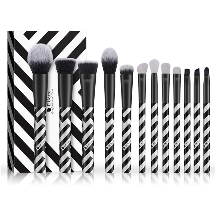 Bộ cọ trang điểm 12 cây DUcare 12 PCS Makeup Brush Set Eyeshadow Goat Hair