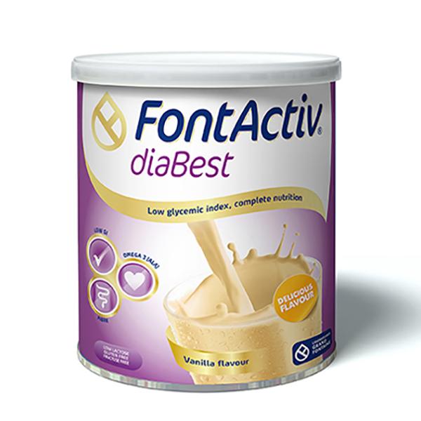Sữa tiểu đường - FontActiv® diaBest-400g (Thực phẩm chức năng dành cho người ăn kiêng, tiểu đường) - 926363 , 7965504539230 , 62_1945555 , 315000 , Sua-tieu-duong-FontActiv-diaBest-400g-Thuc-pham-chuc-nang-danh-cho-nguoi-an-kieng-tieu-duong-62_1945555 , tiki.vn , Sữa tiểu đường - FontActiv® diaBest-400g (Thực phẩm chức năng dành cho người ăn kiêng, tiểu