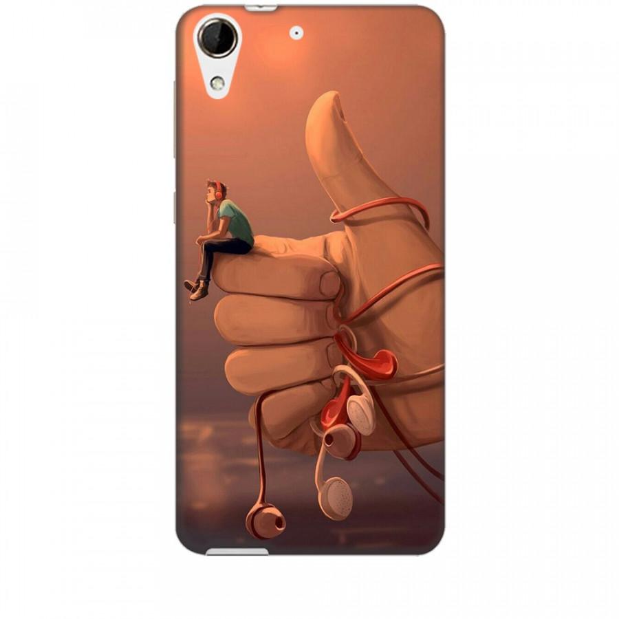 Ốp lưng dành cho điện thoại HTC 728 Cô Đơn Mình Anh