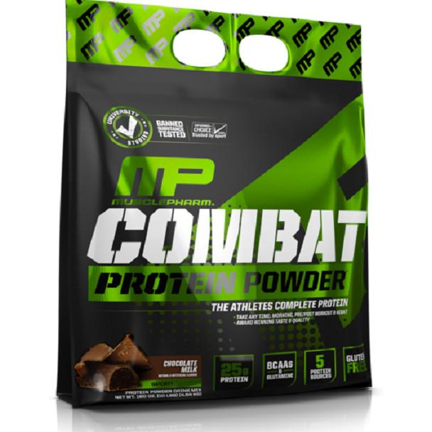 Sữa Tăng Cơ Vị Socola Combat Protein Powder MusclePharm 10lbs (4.54kg) - 1579515 , 5722539251320 , 62_10393608 , 3050000 , Sua-Tang-Co-Vi-Socola-Combat-Protein-Powder-MusclePharm-10lbs-4.54kg-62_10393608 , tiki.vn , Sữa Tăng Cơ Vị Socola Combat Protein Powder MusclePharm 10lbs (4.54kg)