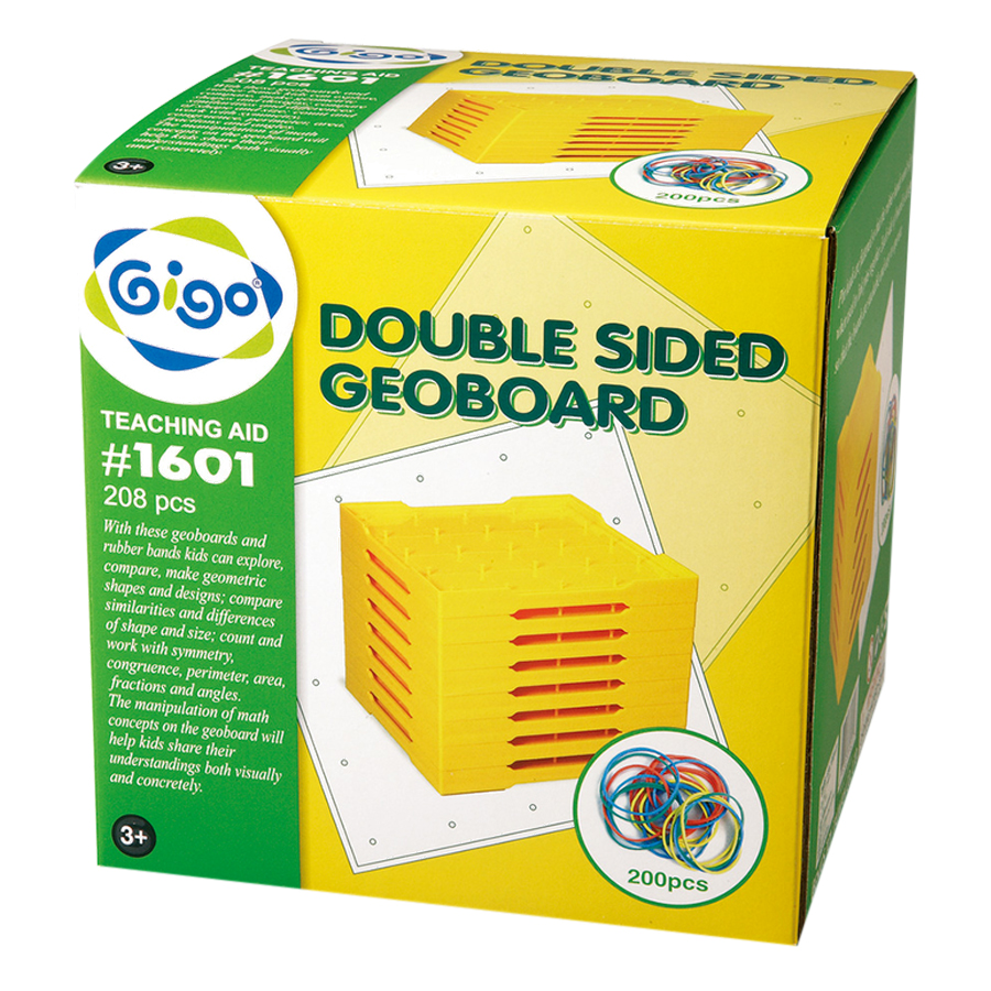 Bảng Đinh 2 Mặt Doublesided Geoboard Gigo Toys 1601 (5 x 5 cm) - Mẫu Ngẫu Nhiên - 878208 , 7801832412664 , 62_1109950 , 760000 , Bang-Dinh-2-Mat-Doublesided-Geoboard-Gigo-Toys-1601-5-x-5-cm-Mau-Ngau-Nhien-62_1109950 , tiki.vn , Bảng Đinh 2 Mặt Doublesided Geoboard Gigo Toys 1601 (5 x 5 cm) - Mẫu Ngẫu Nhiên