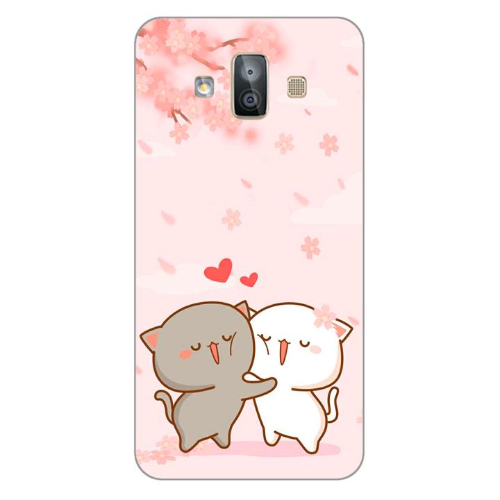 Ốp lưng dẻo cho điện thoại Samsung Galaxy J7 Duo_0509 LOVELY05 - Hàng Chính Hãng