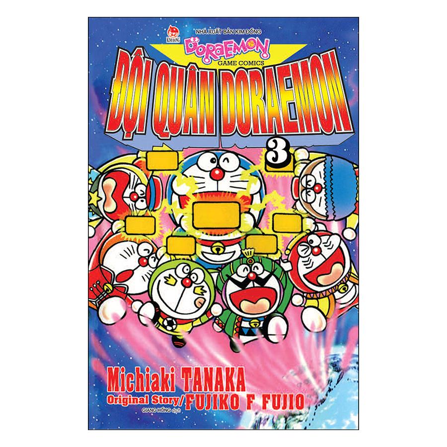 Đội Quân Doraemon - Tập 3 (Tái Bản 2019)