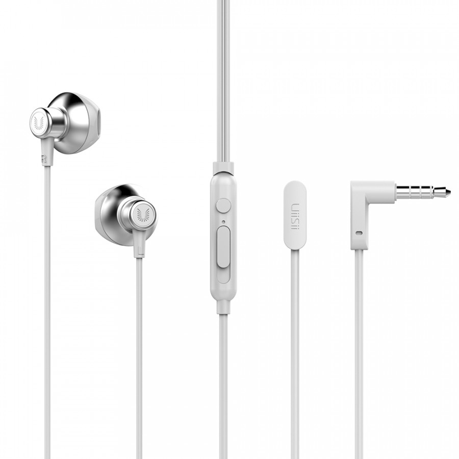 Uiisii Hm12 Half In-Ear Headset Metal Bass Music Earphone Wired Headphones With Mic For Iphone Xiaomi Pc Mp3 - 9875363 , 1216258211207 , 62_19414278 , 299000 , Uiisii-Hm12-Half-In-Ear-Headset-Metal-Bass-Music-Earphone-Wired-Headphones-With-Mic-For-Iphone-Xiaomi-Pc-Mp3-62_19414278 , tiki.vn , Uiisii Hm12 Half In-Ear Headset Metal Bass Music Earphone Wired Head