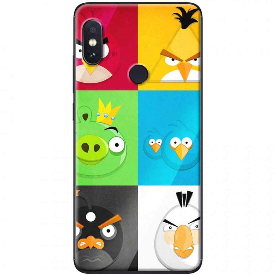 Ốp lưng dành cho Xiaomi Redmi Note 7 mẫu Chim giận dữ