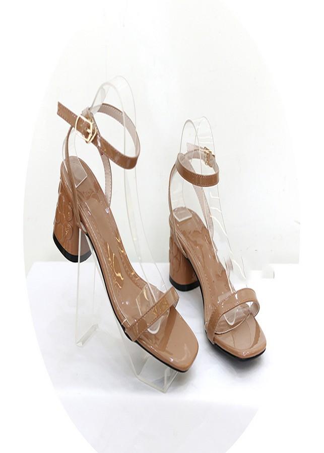 Sandal gót hoa nâu SD05018M2 - 859475 , 1578663652069 , 62_14445445 , 450000 , Sandal-got-hoa-nau-SD05018M2-62_14445445 , tiki.vn , Sandal gót hoa nâu SD05018M2