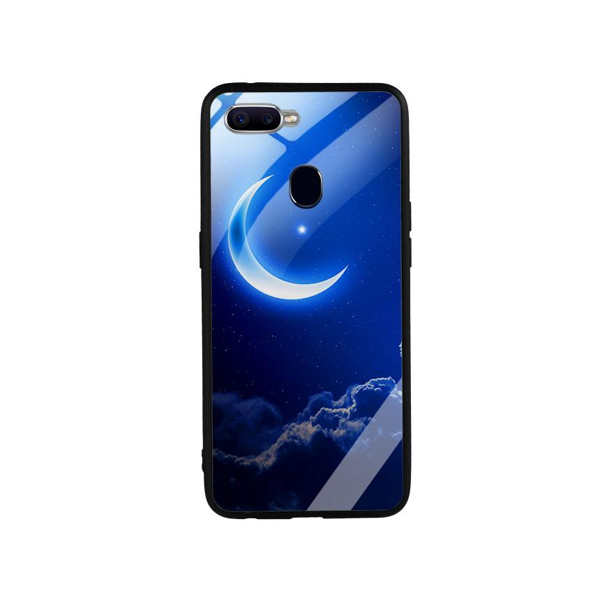 Ốp Lưng Kính Cường Lực cho điện thoại Oppo F9 -  0220 MOON01