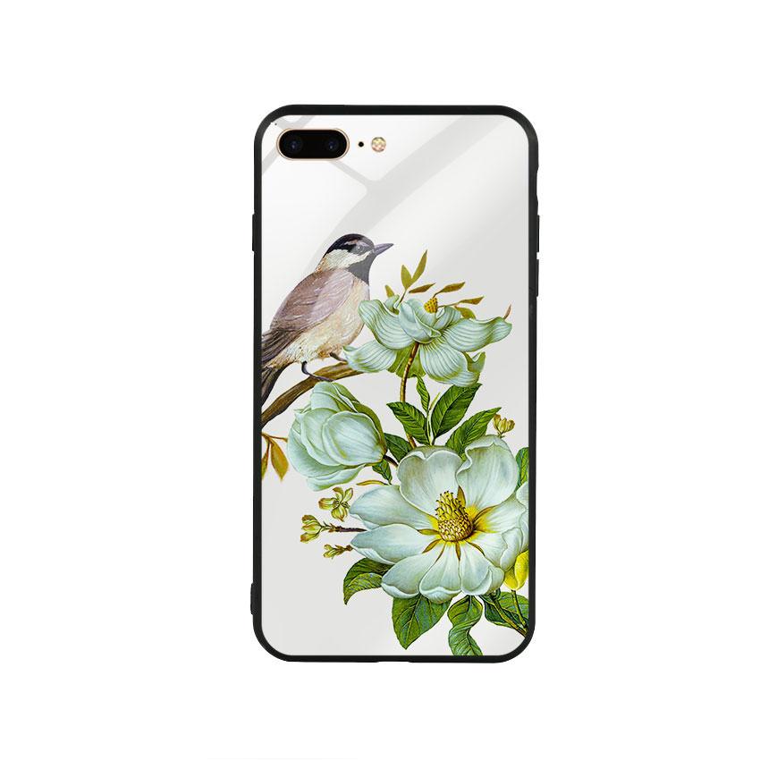 Ốp lưng kính cường lực cho điện thoại Iphone 7 Plus / 8 Plus - Spring 03