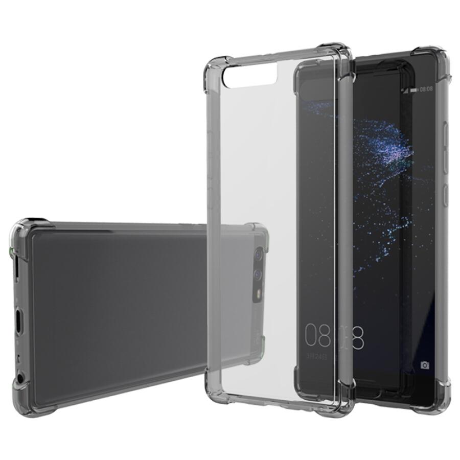 Ốp Lưng Silicon Chống Sốc ESCASE Huawei P10 Plus (Có Lỗ Đeo Dây)