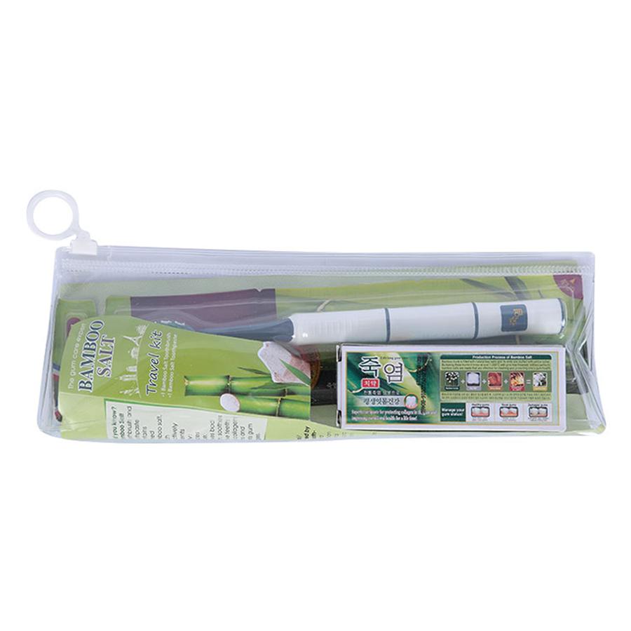 Bộ Travel Kit LG Household (Kem Đánh Răng Tuýp 20G + Bàn Chải Bamboo)