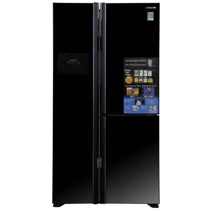 Tủ lạnh 3 cánh SBS HITACHI R-FM800PGV2 (GBK) - 600 Lít (HÀNG CHÍNH HÃNG) - 9546890 , 2678840513608 , 62_13855542 , 48990000 , Tu-lanh-3-canh-SBS-HITACHI-R-FM800PGV2-GBK-600-Lit-HANG-CHINH-HANG-62_13855542 , tiki.vn , Tủ lạnh 3 cánh SBS HITACHI R-FM800PGV2 (GBK) - 600 Lít (HÀNG CHÍNH HÃNG)