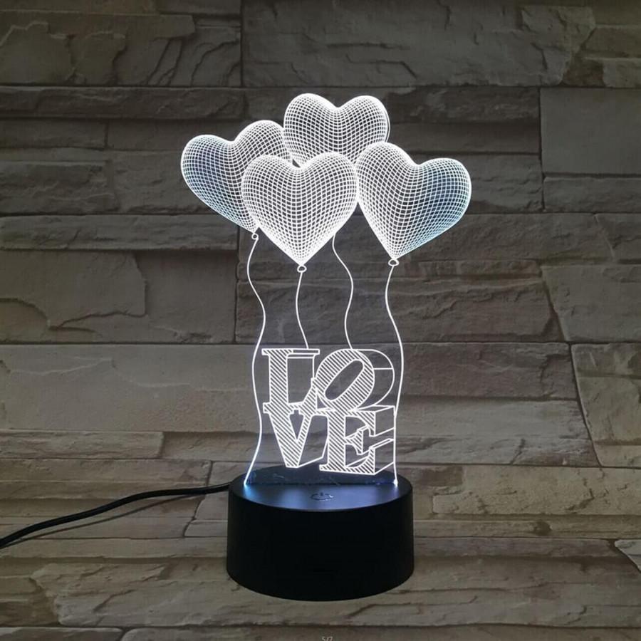 Đèn LED 3D Hình Trái Tim - 7168373 , 3768909936635 , 62_14377527 , 326000 , Den-LED-3D-Hinh-Trai-Tim-62_14377527 , tiki.vn , Đèn LED 3D Hình Trái Tim