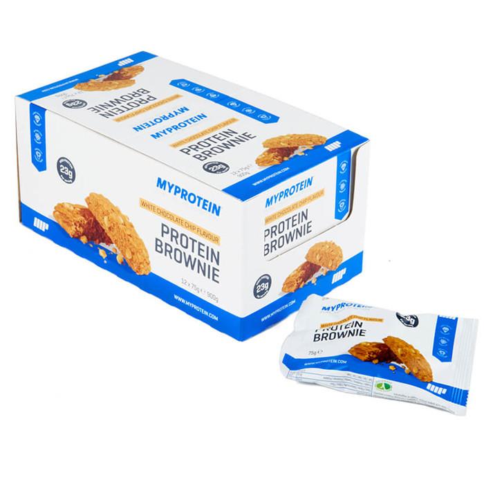 Bánh Protein Brownie thay thế bữa ăn nhẹ mùi Sô cô la trắng (12 cái/hộp) - 1602508 , 8558164050376 , 62_10769129 , 650000 , Banh-Protein-Brownie-thay-the-bua-an-nhe-mui-So-co-la-trang-12-cai-hop-62_10769129 , tiki.vn , Bánh Protein Brownie thay thế bữa ăn nhẹ mùi Sô cô la trắng (12 cái/hộp)