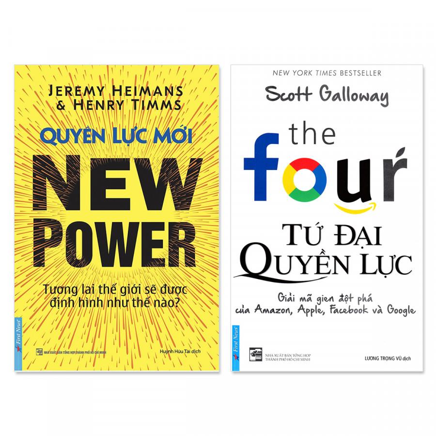 Combo 2 cuốn: Tứ Đại Quyền Lực, Quyền Lực Mới - 1590892 , 6684561378446 , 62_14347477 , 374000 , Combo-2-cuon-Tu-Dai-Quyen-Luc-Quyen-Luc-Moi-62_14347477 , tiki.vn , Combo 2 cuốn: Tứ Đại Quyền Lực, Quyền Lực Mới