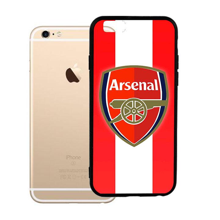 Ốp lưng viền TPU cao cấp dành cho iPhone 6 Plus - Clb Arsenal 01
