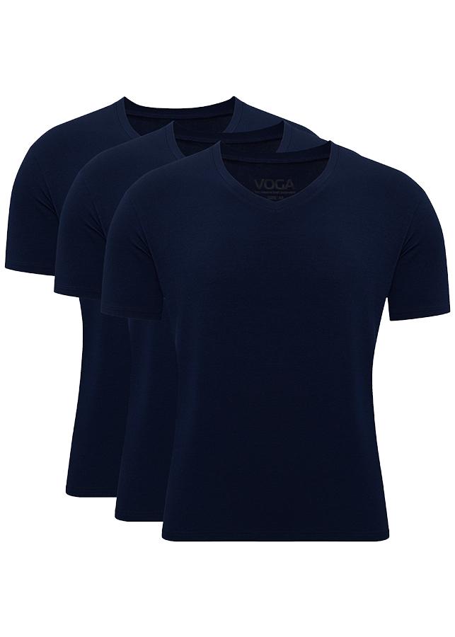 Set 3 áo thun slim fit Voga cổ trái tim có tay vải Modal - 1114504 , 5608920774855 , 62_7013801 , 577000 , Set-3-ao-thun-slim-fit-Voga-co-trai-tim-co-tay-vai-Modal-62_7013801 , tiki.vn , Set 3 áo thun slim fit Voga cổ trái tim có tay vải Modal