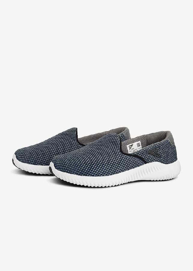 Giày Lười Nữ Iken - Đen Bạc