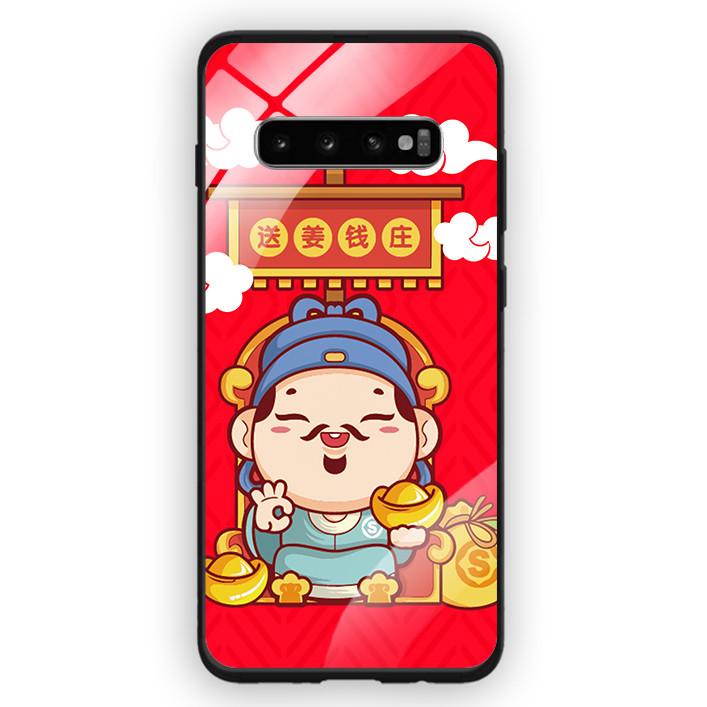 Ốp Lưng Kính Cường Lực Cho Điện Thoại Samsung Galaxy S10 Plus - 391 0090 THANTAI08 - Hàng Chính Hãng