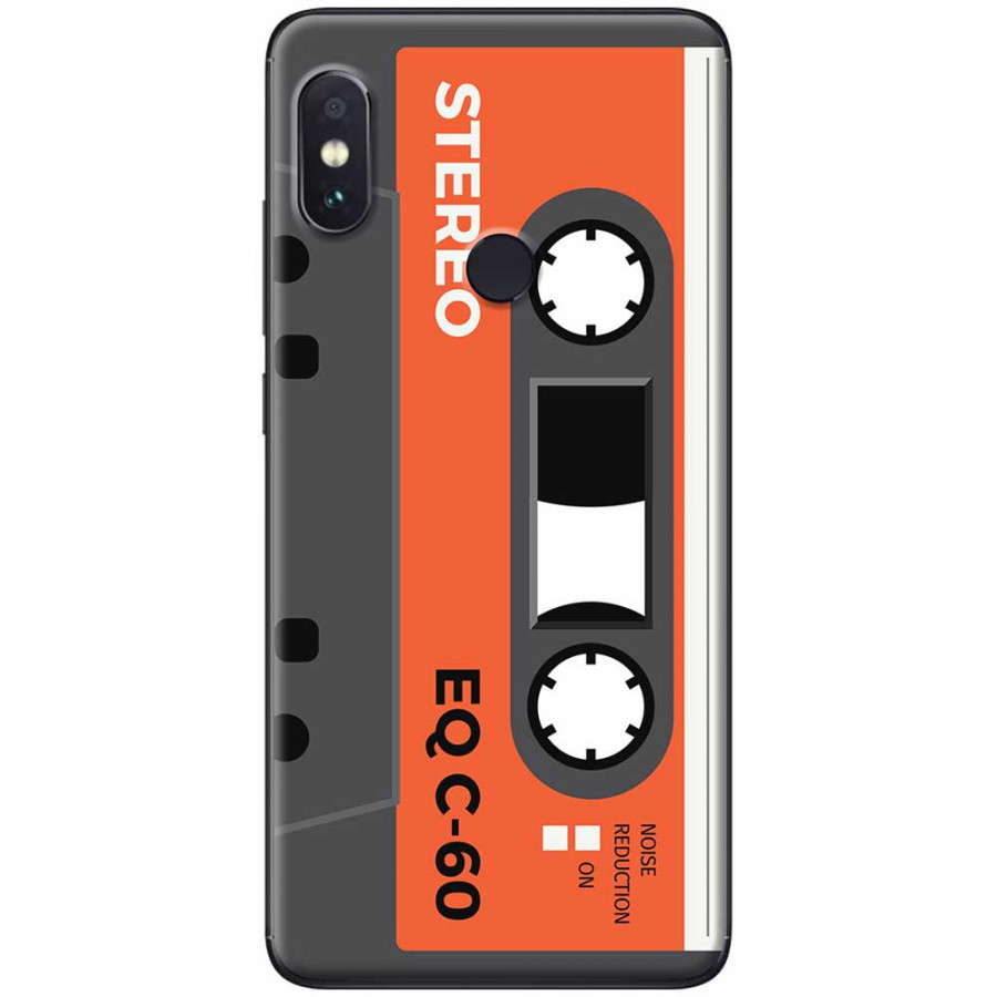 Ốp lưng dành cho Xiaomi Redmi Note 7 mẫu Cassette xám cam