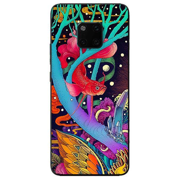 Ốp in cho Huawei Mate 20 Pro Cá Rồng - Hàng chính hãng
