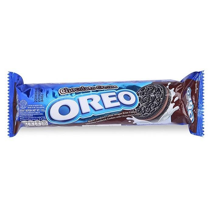 Bánh Quy Kem Chocolate Oreo (137g)