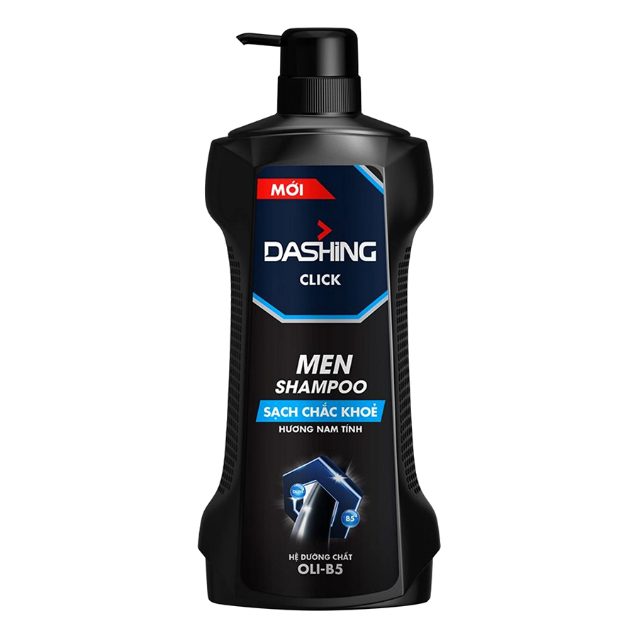 Dầu gội cho tóc sạch chắc khỏe nam giới Dashing Click Men Shampoo - 650g