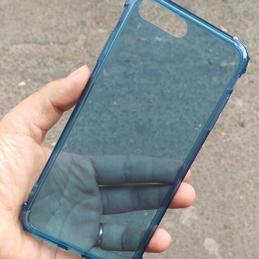 Ốp lưng chống sốc gờ cao 4 góc màu trong cho iPhone 7 Plus / iPhone 8 Plus