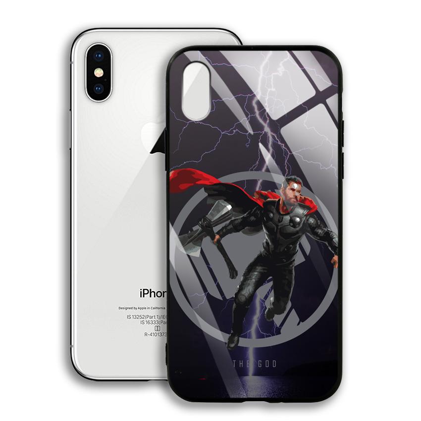Ốp Lưng Kính Cường Lực cho điện thoại Apple Iphone X / XS - 03005 0540 GOD01 - Hàng Chính Hãng