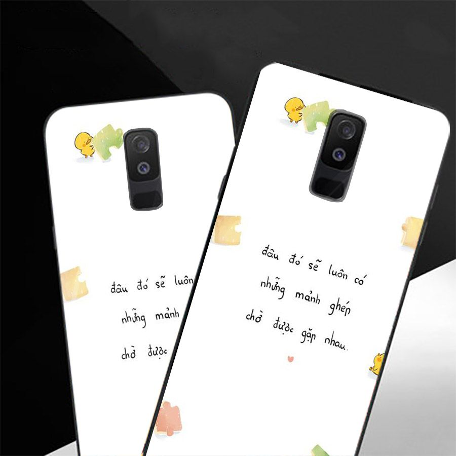 Ốp kính cường lực dành cho điện thoại Samsung Galaxy A8 2018/A5 2018 - J2 Core - A6 Plus - lời trích tâm sự tâm... - 1966432 , 3249793594397 , 62_14823232 , 210000 , Op-kinh-cuong-luc-danh-cho-dien-thoai-Samsung-Galaxy-A8-2018-A5-2018-J2-Core-A6-Plus-loi-trich-tam-su-tam...-62_14823232 , tiki.vn , Ốp kính cường lực dành cho điện thoại Samsung Galaxy A8 2018/A5 2018 - J2
