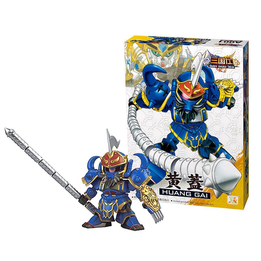 Bộ Lắp ghép sáng tạo Gundam Hoàng Cái - Đồ chơi Tam Quốc Lego A001 - 799698 , 5630233033947 , 62_13592721 , 199000 , Bo-Lap-ghep-sang-tao-Gundam-Hoang-Cai-Do-choi-Tam-Quoc-Lego-A001-62_13592721 , tiki.vn , Bộ Lắp ghép sáng tạo Gundam Hoàng Cái - Đồ chơi Tam Quốc Lego A001