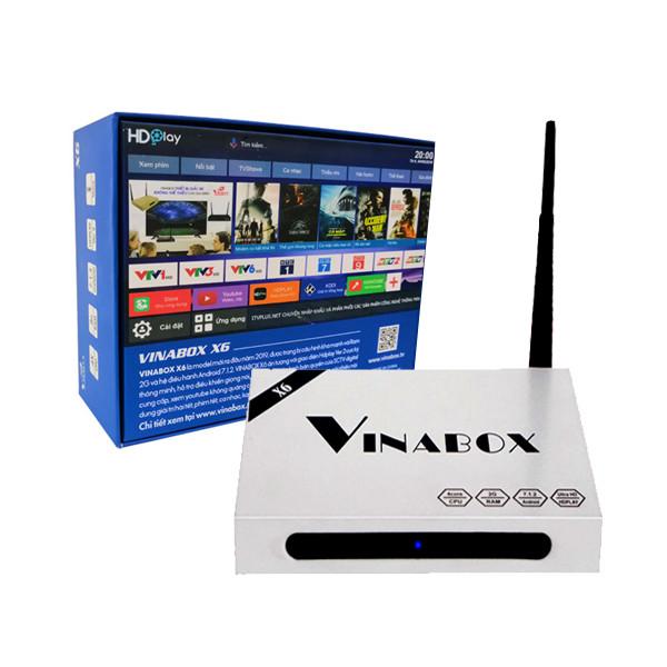 Vinabox X6 – TV Box điều khiển bằng giọng nói, Chip lõi tứ, Ram 2GB, Model 2019 - 1542203 , 1502010282890 , 62_10674533 , 1350000 , Vinabox-X6-TV-Box-dieu-khien-bang-giong-noi-Chip-loi-tu-Ram-2GB-Model-2019-62_10674533 , tiki.vn , Vinabox X6 – TV Box điều khiển bằng giọng nói, Chip lõi tứ, Ram 2GB, Model 2019