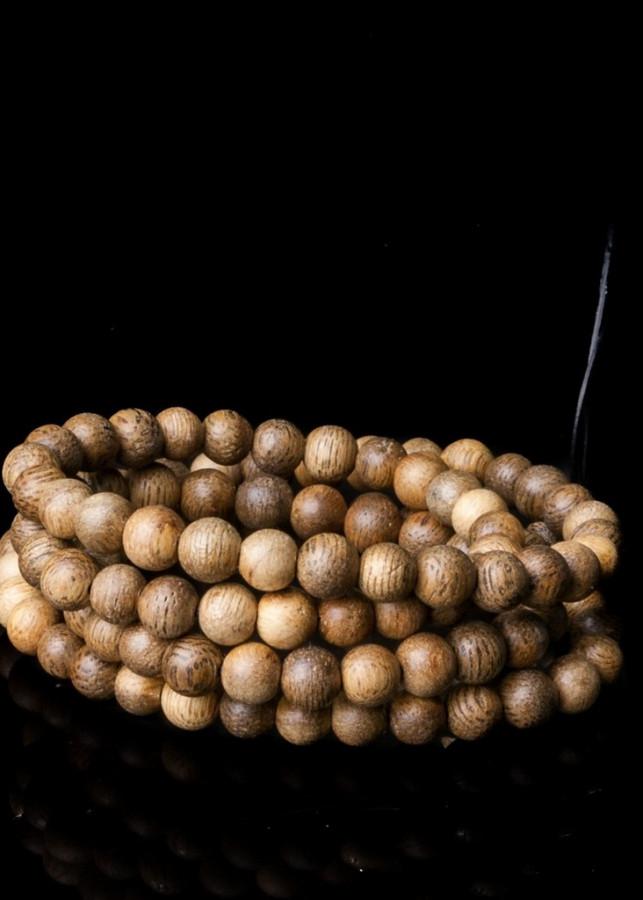 Vòng tay Trầm hương 108 hạt- Gỗ Nghệ Thuật Kinh Bắc ( Size hạt 6mm )