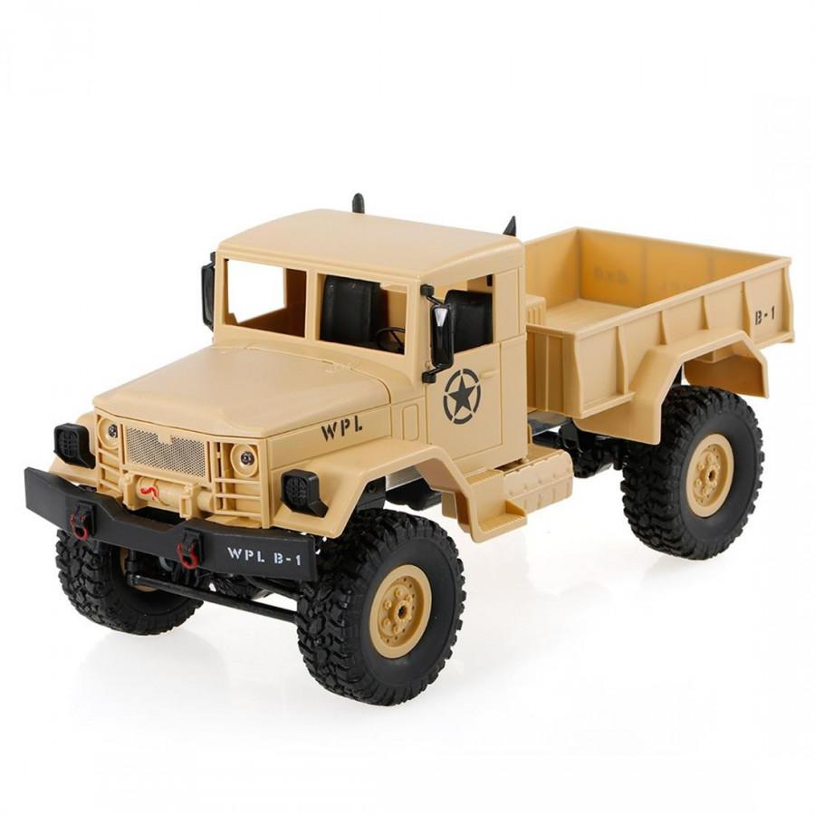 Xe Tải Quân Đội RC Off-Road WPL B-1 2.4G Tỉ Lệ 1/16